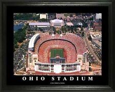 """OHIO STATE @ OHIO STADIUM FRAMED 22""""x28"""" aerial photo"""