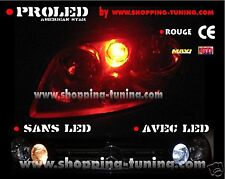 2 VEILLEUSES LED W5W ROUGE RENAULT CLIO 2 3 ESPACE