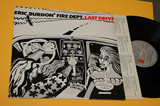 ERIC BURDON ANIMALS LP LAST DRIVE ORIG ITALY 1980 EX FUMETTI COVER