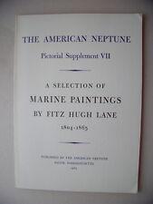 American Neptune Pictorial Supplement VII Marine Painting 1965 F. Hugh Lane