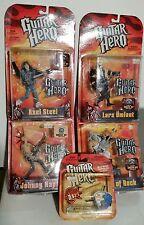 Guitar Hero SET 4x Axel, Lars, Johnny, God of Rock figure McFarlane + omaggio