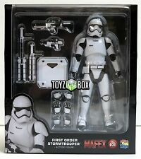 """In STOCK Medicom Toy Star Wars """"First Order Stormtrooper"""" MAFEX Action Figure"""