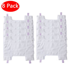 8 xReplacement Microfiber Mop Pads Cleaning Cloth for Shark Rocket HV300 Vacuum