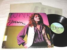 "Ferron ""Testimony"" 1981 Folk LP, VG+, on Philo, +Lyrics Insert"