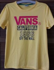 Vans Yellow T-Shirt for Teenagers