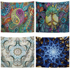 Psychedelic Flower Tapestry Wall Hanging Blanket Table Cloth Yoga Mat Rug Decor
