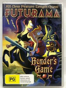 Futurama - Benders Game - DVD - AusPost with Tracking