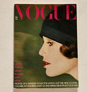 70s Norman Parkinson Vogue vintage fashion magazine David Watkins Wendy Ramshaw
