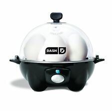 Dash Go Rapid Egg Cooker Electric Poacher Boiler Eggs Steamer Kitchen Chef New