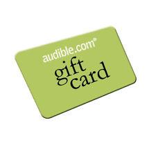 Audible.com account with 3 credits - Please read the item description
