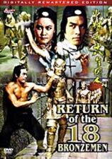 return of the 18 Bronzemen - Hong Kong Kung Fu Martial Arts Action movie DVD