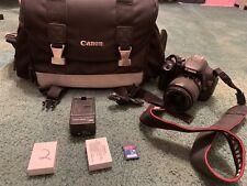 Canon EOS Rebel T3i 18.0MP Digital SLR Camera - Black (Kit with EF-S 18-55mm..)
