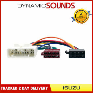 PC2-48-4 Car Stereo Radio Wiring Harness ISO Loom For Isuzu Rodeo 1993 Onwards