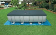 Copripiscina Intex 10756 piscina Ultra Frame Copertura telo 549 x 274 cm - Rotex