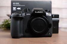 Panasonic Lumix GH5 Mirrorless Camera Body w/Strap, Batteries and Dual Charger