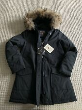 Woolrich Arctic Parka Women's Size XS Navy RRP £750