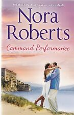 Command Performance by Nora Roberts, New Book