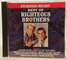 Righteous Brothers  :  Unchained Melody - Best Of Righteous Brothers  CD  NICE !