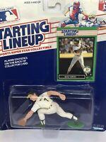1989 Starting lineup Walt Weiss figure Card Oakland A's toy Rookie UNC tar heels