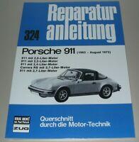 Reparaturanleitung Porsche 911 2,0 2,2 2,4 Carrera RS 2,7 1963 - 1975 Buch NEU!