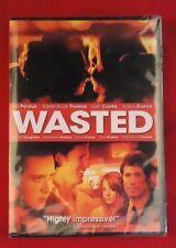Wasted (DVD, 2008) Kaley Cuoco (Big Bang Theory) Kip Pardue (Sealed)