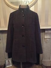 Wool Blend Check Formal Coats & Jackets for Women