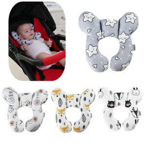Baby U-Shaped Pillow Travel Car Seat Pillow Stroller Cushion Head Neck Support