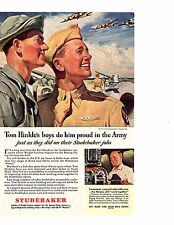 Studebaker Tom Hinkle's boys do him proud in the Army Cyclone engines (OZ 253)