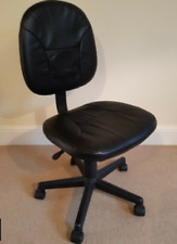 Black adjustable computer chair