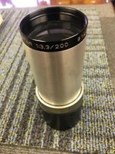 70mm ISCO Projection Lens 200mm Focal Length