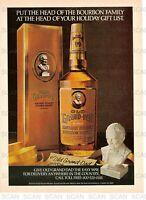1979 Old Grand Dad Vintage Magazine Ad - Kentucky Bourbon Whiskey 'Gift List'