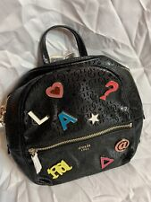 Guess Women's Tabbi Small Black Backpack Bag FREE GIFT!!!