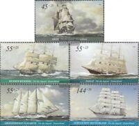 BRD (BR.Deutschland) 2464-2468 (kompl.Ausg.) postfrisch 2005 Segelschiffe
