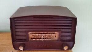Vintage Murphy Bakelite radio valve
