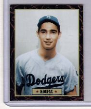 Sandy Koufax '55 Brooklyn Dodgers rookie Ultimate Baseball Card Collection #11