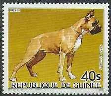 Timbre Chiens Guinée PA187 ** lot 15830