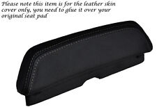 GREY STITCH CUSTOM FITS LAVERDA 650 668 BACKREST PAD LEATHER SEAT COVER