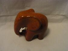 Mid Century Germany Art Pottery Ceramic Elephant #^