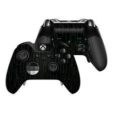 Xbox One Elite Controller Skin Kit - Matrix Style Code - DecalGirl Decal