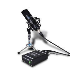 48V Phantom Power Supply and 9V Battery Supply for Condenser Microphone