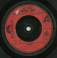 THE STEVE GIBBONS BAND - TULANE / NOW YOU KNOW ME - ORIGINAL 70s ATL. ROCK / POP