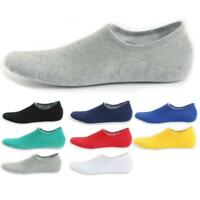 1 Pair Men Casual Cotton Loafer Boat Non-Slip Invisible Low Cut No Show Socks