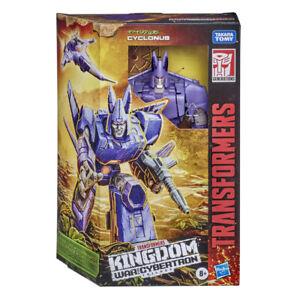 Transformers War For Cybertron: Kingdom Voyager Class - Cyclonus