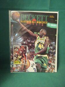 October 1993 - Beckett Basketball Monthly #39 - Shawn Kemp