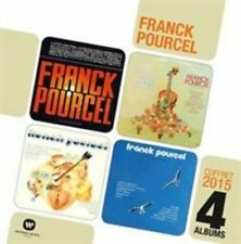 FRANCK POURCEL & HIS ORCHESTRA - FOUR ALBUMS NEW CD