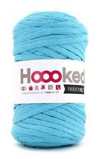 Hoooked RibbonXL 120M Cotton Yarn Knitting Crochet - Sea Blue