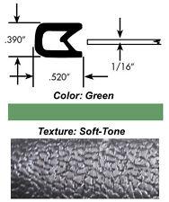 "Universal Weatherstrip Decorative Edge Trim White Soft Tone .090/""-.190/"""