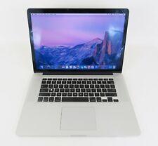 "Apple MacBook Pro Early 2013 15"" A1398 Core i7-3635QM 2.4GHz 8GB RAM 500GB SSD"