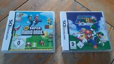 LOT de 2 JEUX NINTENDO DS : SUPER MARIO BROSS & SUPER MARIO 64 DS