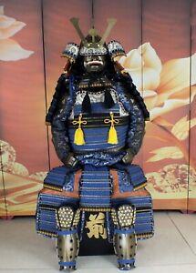 Replica Wearable Japanese Samurai Armor Yoroi Iron Life Size Suit Isosceles HZY